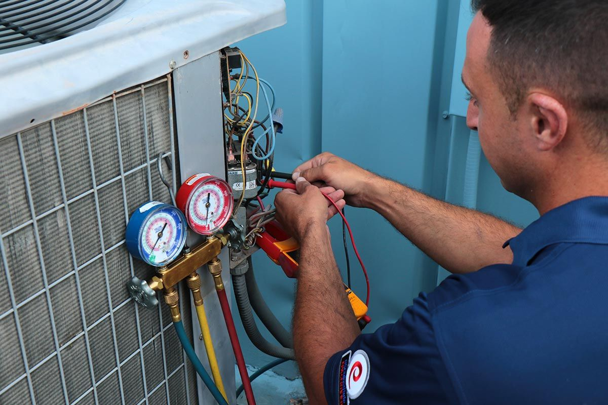 TipTop HVAC specializes in air conditioning repair service