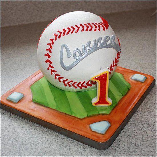 baseball birthday cake Kids Birthday Ideas Pinterest