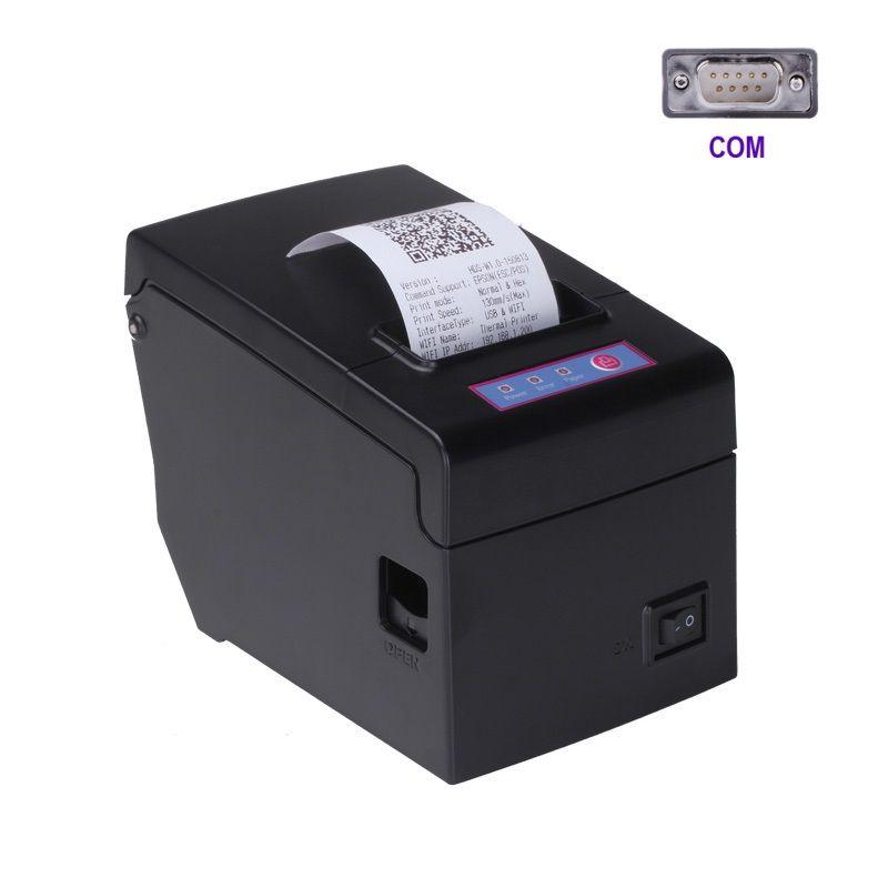 RS232 serail port pos58 thermal pos printer for receipt bill