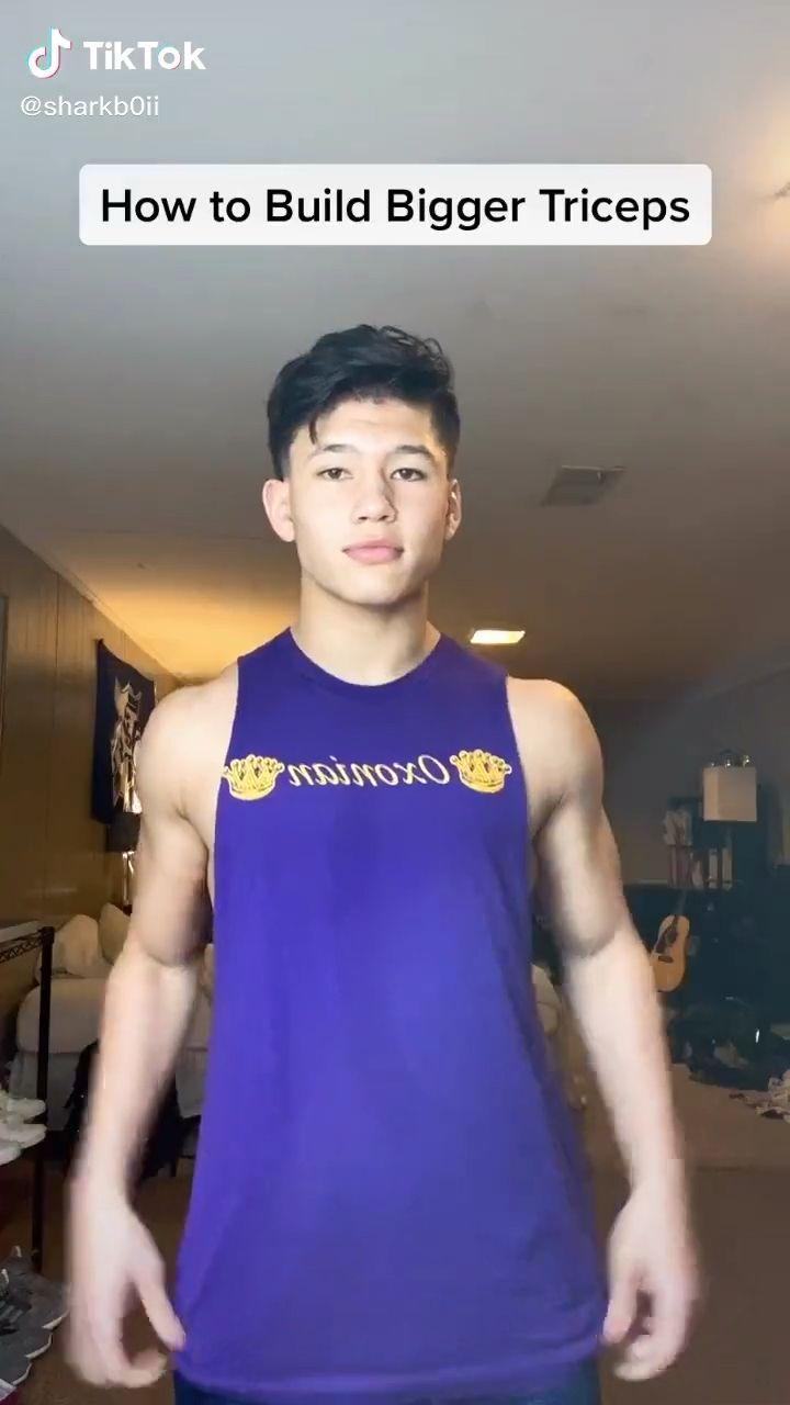 Workout Triceps Tips TikTok