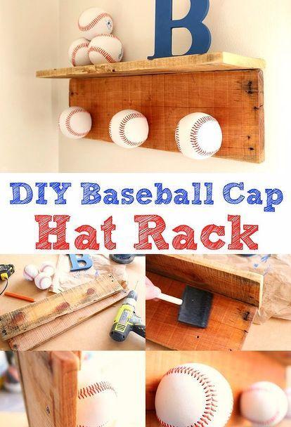 Diy Baseball Hat Rack Animals Liance Repair Liances Architecture Bat Ideas Bathroom Bedroom Bug Extermination Repellent