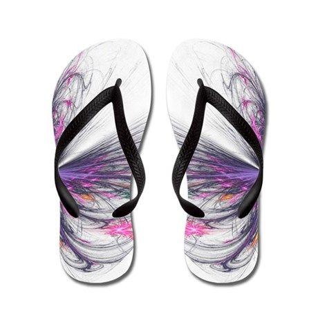 Abstarct Butterfly Flip Flops
