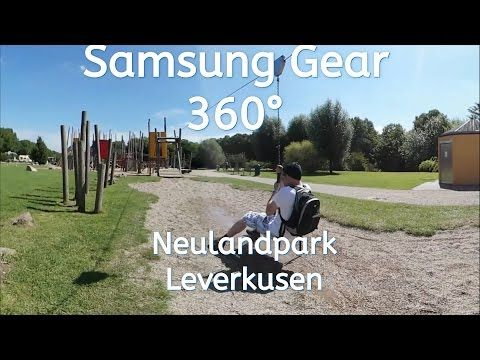 Samsung Gear 360 Neulandpark Leverkusen - YouTube