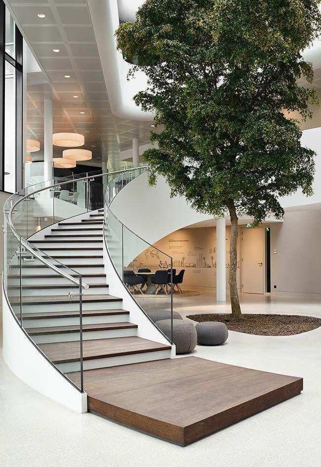 30 Casas Modernas Con Disenos De Vanguardia Modern Staircase