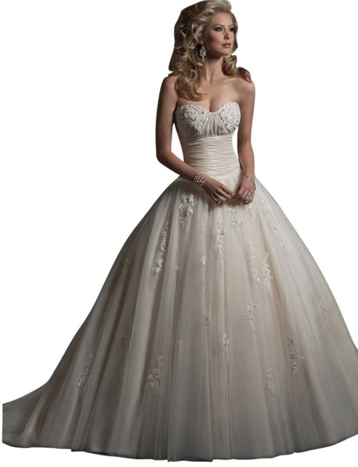 Chardonnay wedding dress maggie sottero wedding dress and chardonnay wedding dress wedding storerecycled bridemaggie junglespirit Gallery