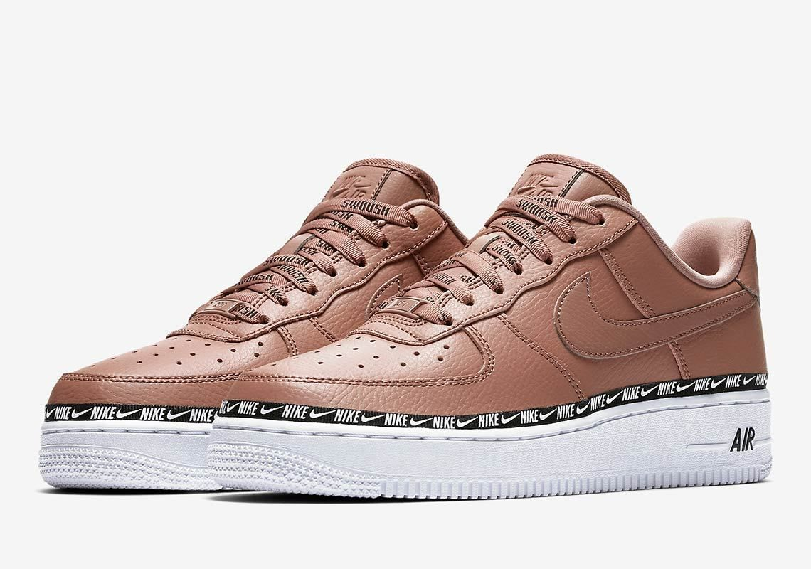Nike Air Force 1 Low Ribbon Pack Tan AH6827 201 | Nike shoes