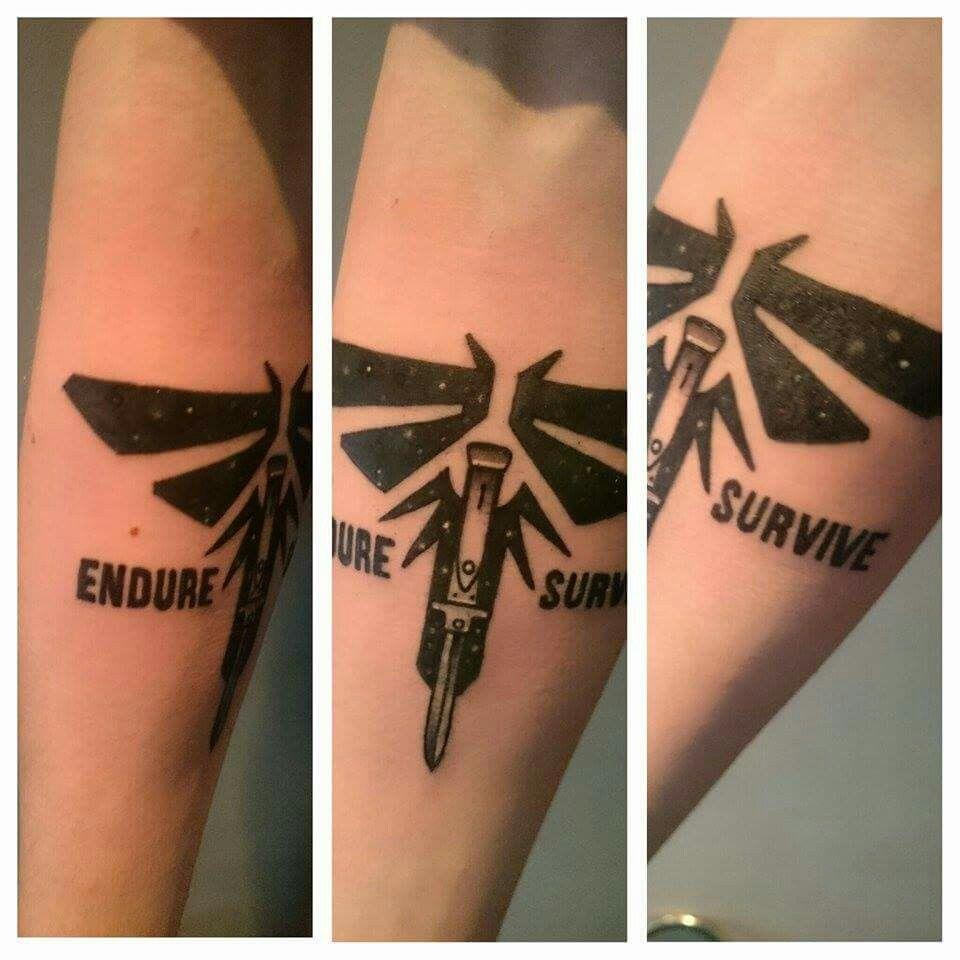 Tattoo Designs Us: The Last Of Us Tattoo
