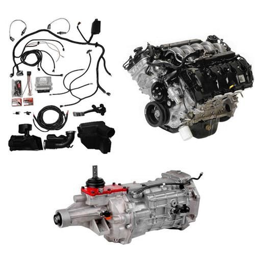 Simplify Your Coyote Swap With The Ford Performance Coyote Power Module Kit This Complete Kit Has Everything You Mustang Model Engine Kits Custom Car Interior