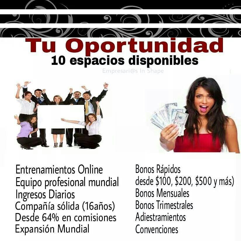 Busco 10 personas entusiastas que deseen ingresos adicionales, trabajando desde casa, en su tiempo libre.  Excelentes comisiones !!!!!  Para mas detalles  Info@tiendafuentedevida.com