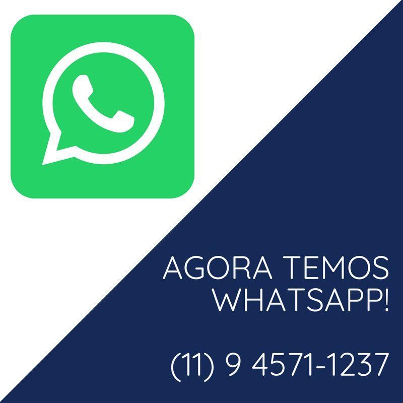 Agora temos WhatsApp! Entre em contato conosco pelo número