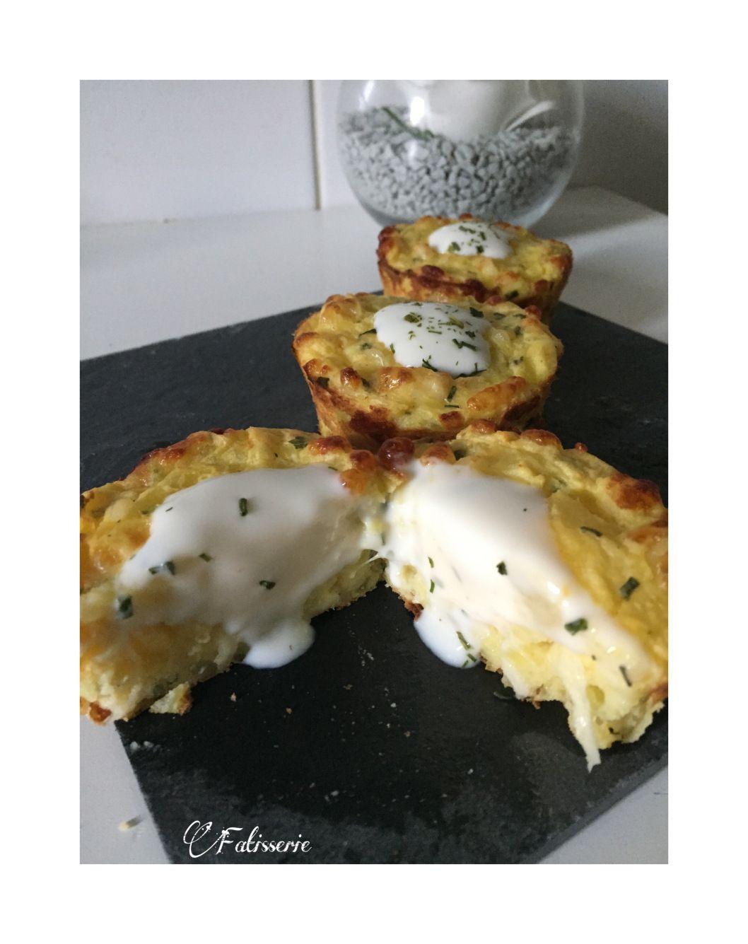 muffins de pommes de terre fourr s au fromage cuisine pinterest. Black Bedroom Furniture Sets. Home Design Ideas