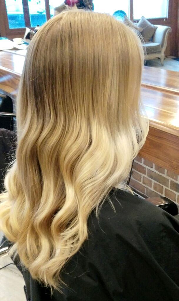Relaxed curl is perfect for every occasion. Hair by Kerrie