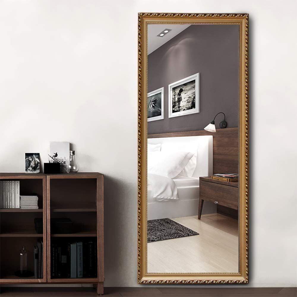 Amazon Com Neutype Full Length Mirror Floor Mirror Wall Mounted Dressing Mirror Leaner Mirror Bedroom Locker R Dressing Mirror Mirror Wall Wall Mounted Mirror