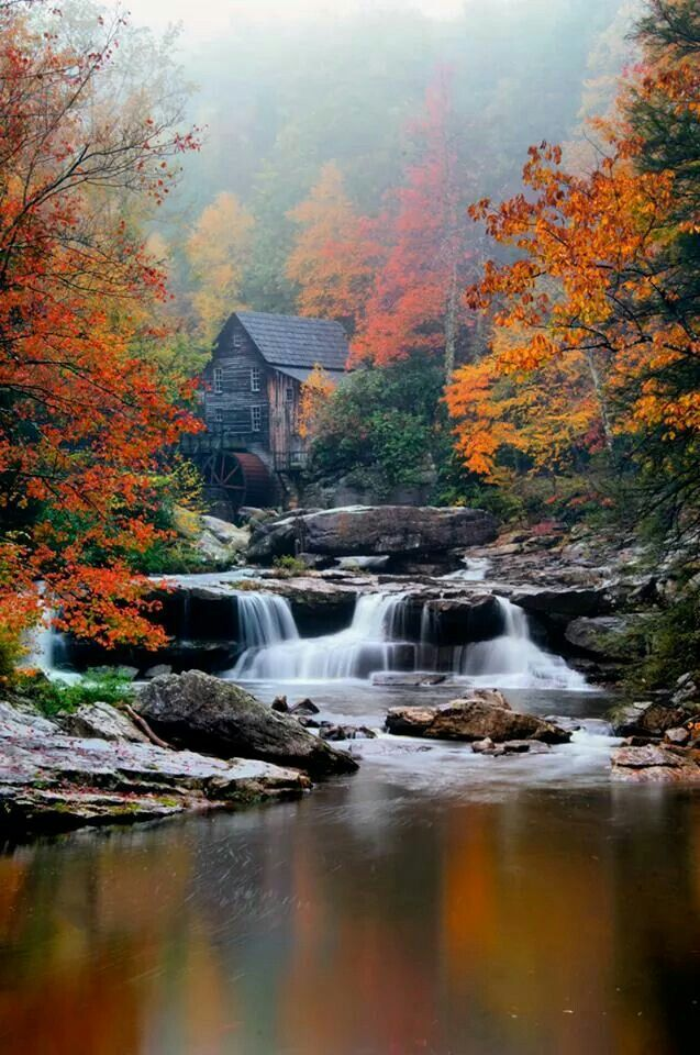 Babcock State Park in West Virginia by Rick Burgess | West