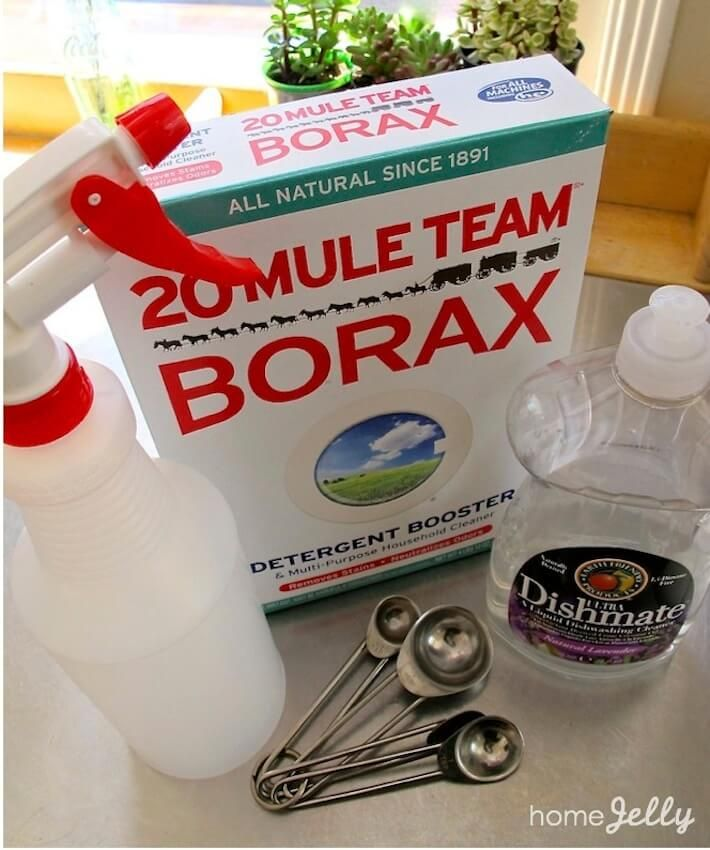 Charming DIY Outdoor Furniture Cushion Cleaning Solution: In A Spray Bottle, Fill  Full, Then Add 1 Tsp. Of Dishwashing Liquid And 1 Tsp. Of Borax.