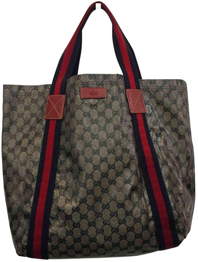 887e830f6dbfee Gucci Cloth handbag | Designer Handbags | Gucci handbags, Luxury ...