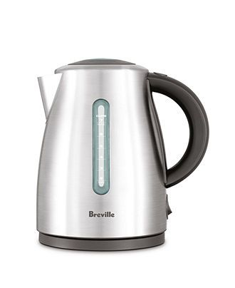 Breville BKE490 Electric Cordless Kettle, The Soft Top - Coffee & Espresso - Kitchen - Macy's