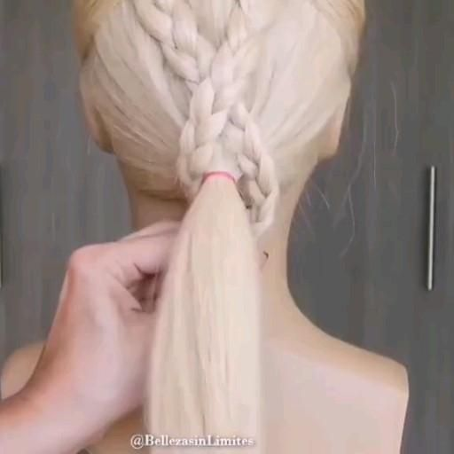 Lovely Hairstyle Video In 2020 Hair Up Styles Front Hair Styles Hair Styler