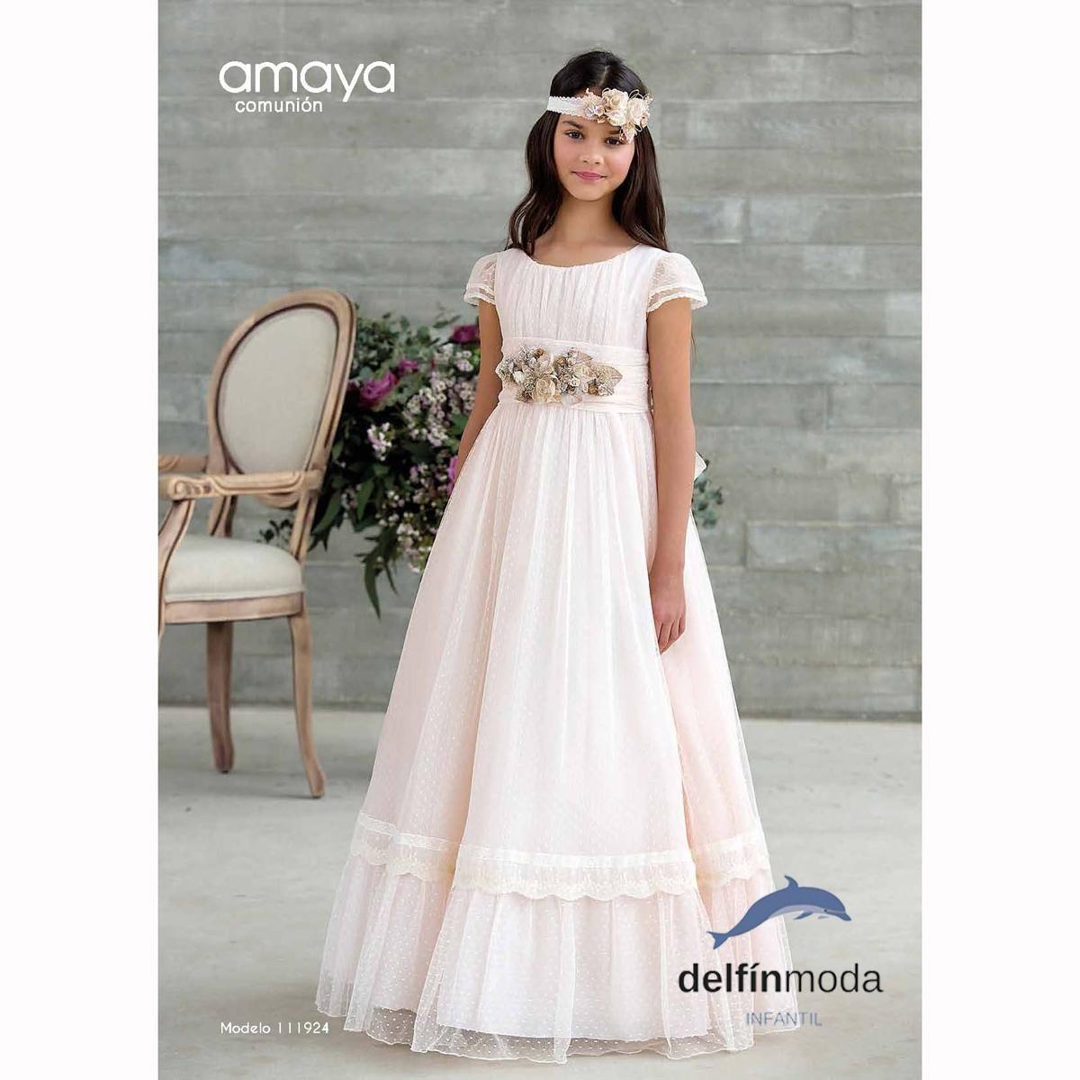 Modelos de vestidos para comunion 2018