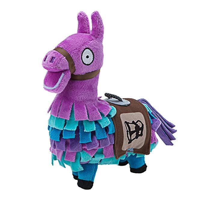 Amazon Com Fortnite 7 Llama Loot Plush Art Hov Llama Plush Llama Stuffed Animal Soft Stuffed Animals