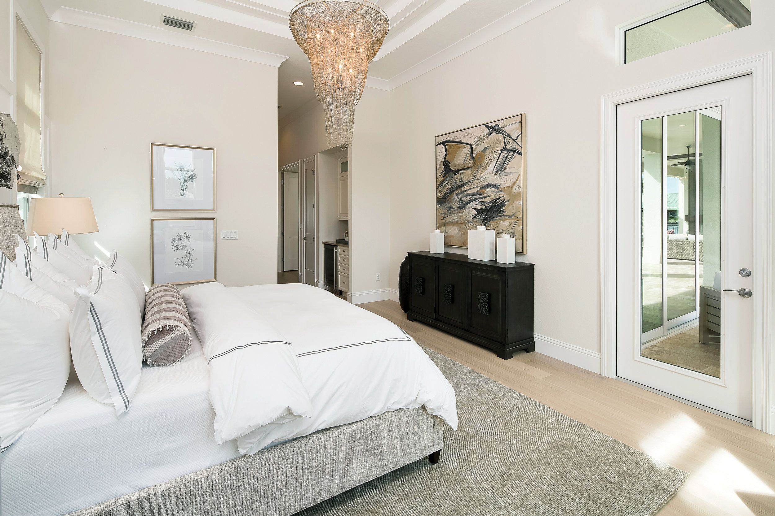 The Master Bedroom Was Designed To Be A True Retreat