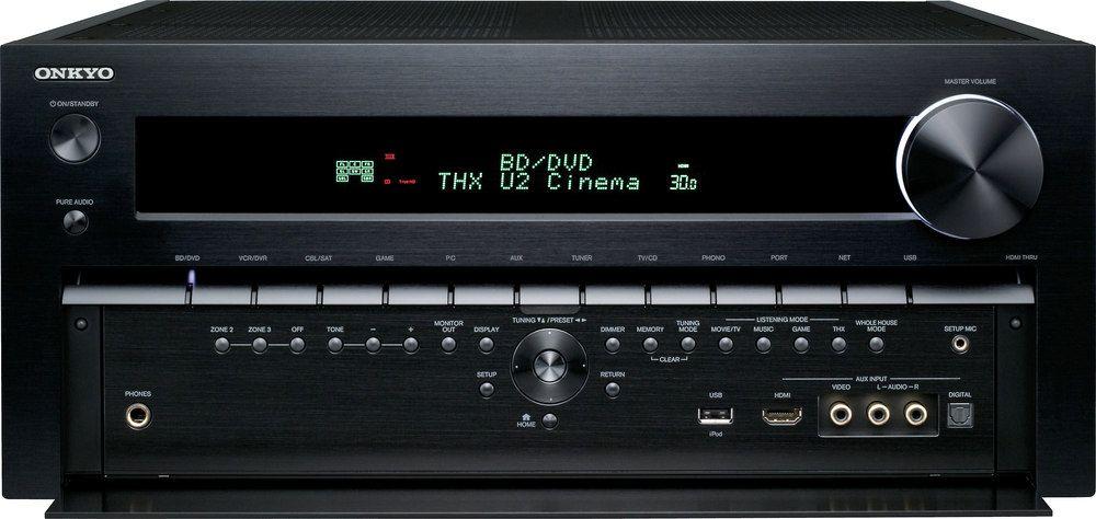 Onkyo's top receiver  Onkyo's flagship TX-NR5009