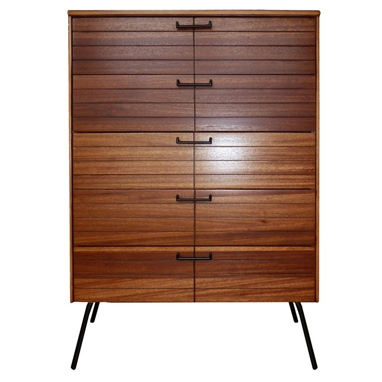 Raymond Loewy; Chest of Drawers for Menge, 1950s.