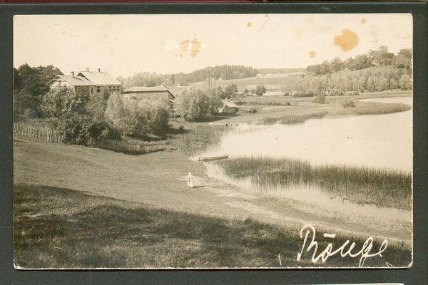 VÕRU RÕUGE Vana fotopostkaart