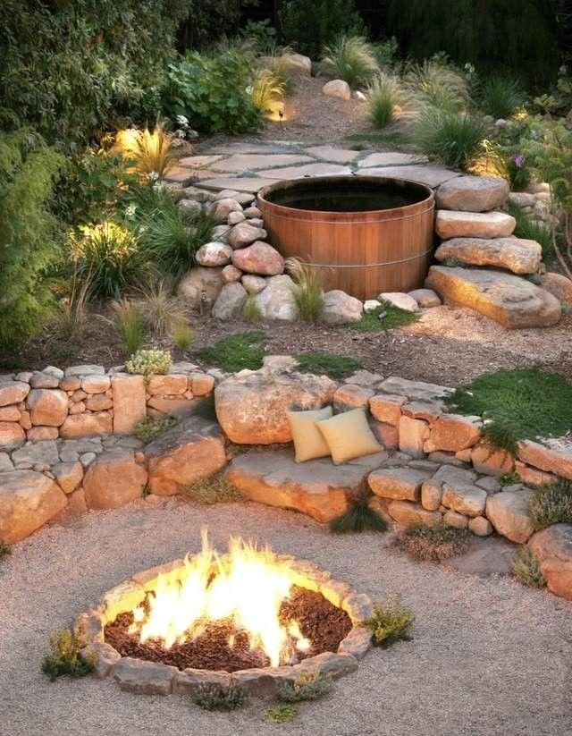 Whirlpool Im Garten Woran Liegt Der Charme Der Badetonne garden - whirlpool im garten selber bauen