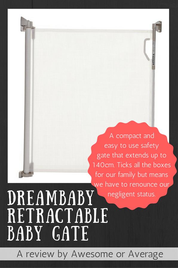 Dreambaby Retractable Baby Gate Baby gates, Retractable