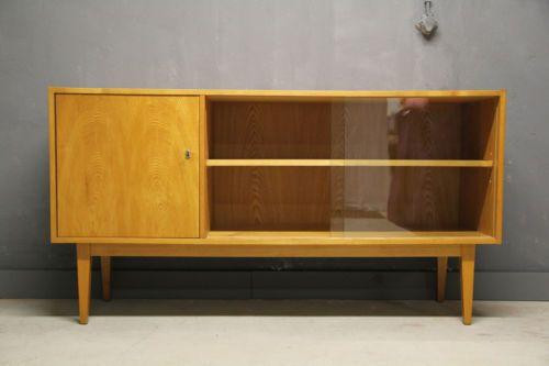 50er Jahre WK Hellerau Vitrine Sideboard 602 M Franz Ehrlich, 450 - sideboard für schlafzimmer