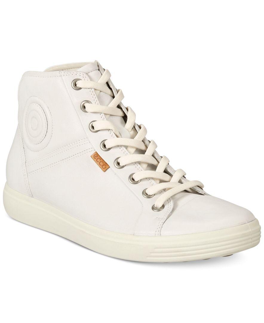 Ecco Women's Soft Vii High-Top Sneakers