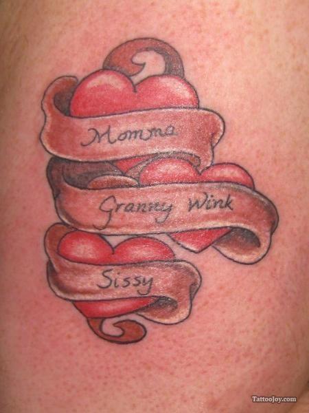 Heart Banner Tattoo : heart, banner, tattoo, Hearts, Banners, Names, Tattoo, Heart, Tattoos, Names,, Designs,