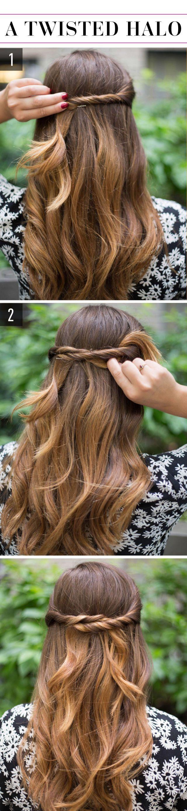 15 Super-einfache Frisuren für faule Mädchen, die nicht einmal können