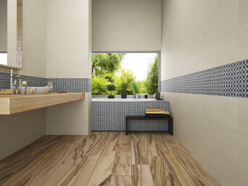 Una idea para remodelar con interceramic bathroom cute - Loseta para bano ...