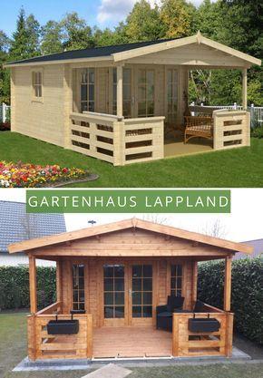 Gartenhaus Lappland40 A Tuinhuisjes