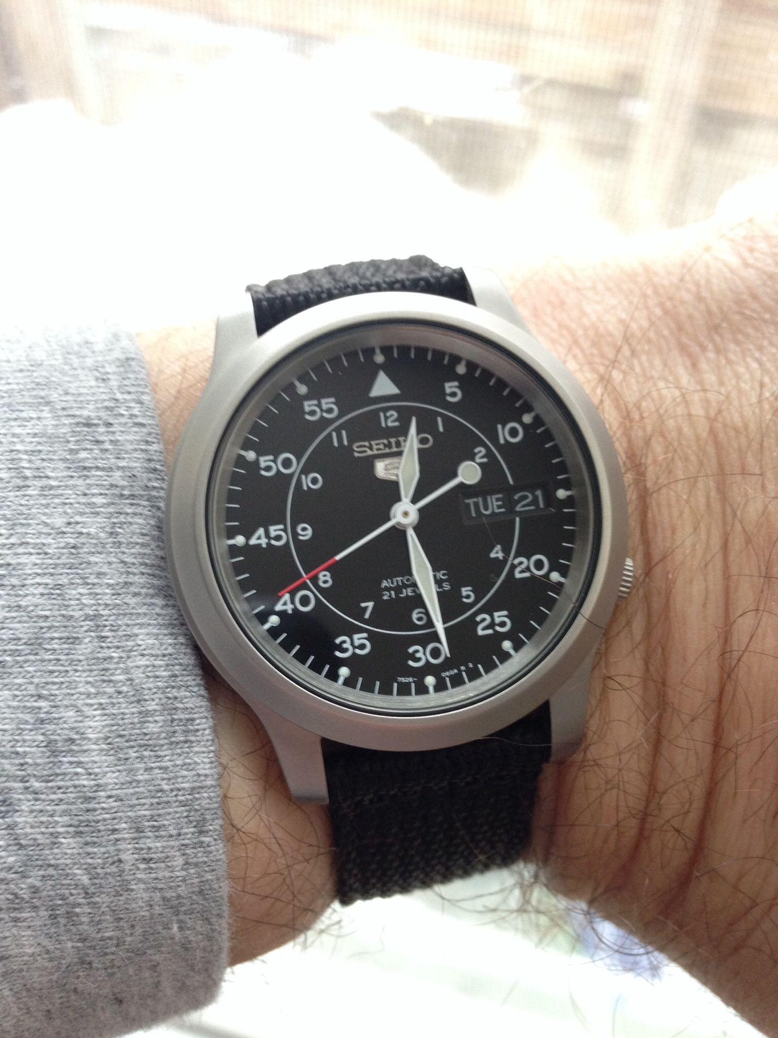 Seiko SNK809 Seiko 5 automatic field watch Seiko Snk809 Seiko 5 Automatic Field Watches