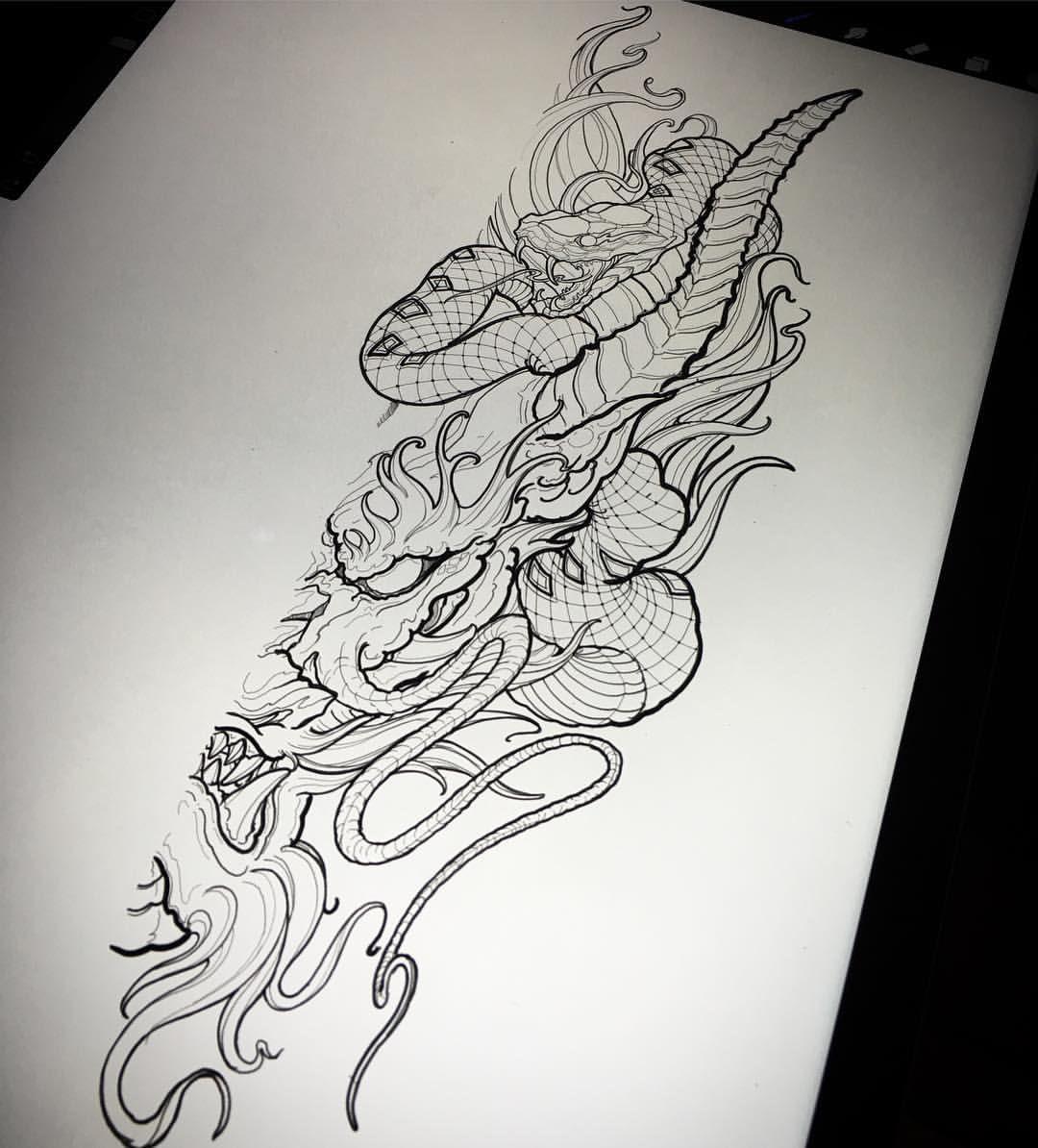 Chronic Ink Tattoo Kitsilano Vancouver Asian Tattoos Ed Truong Dragon Japanese Tattoo Designs Tattoos Japanese Tattoo Art