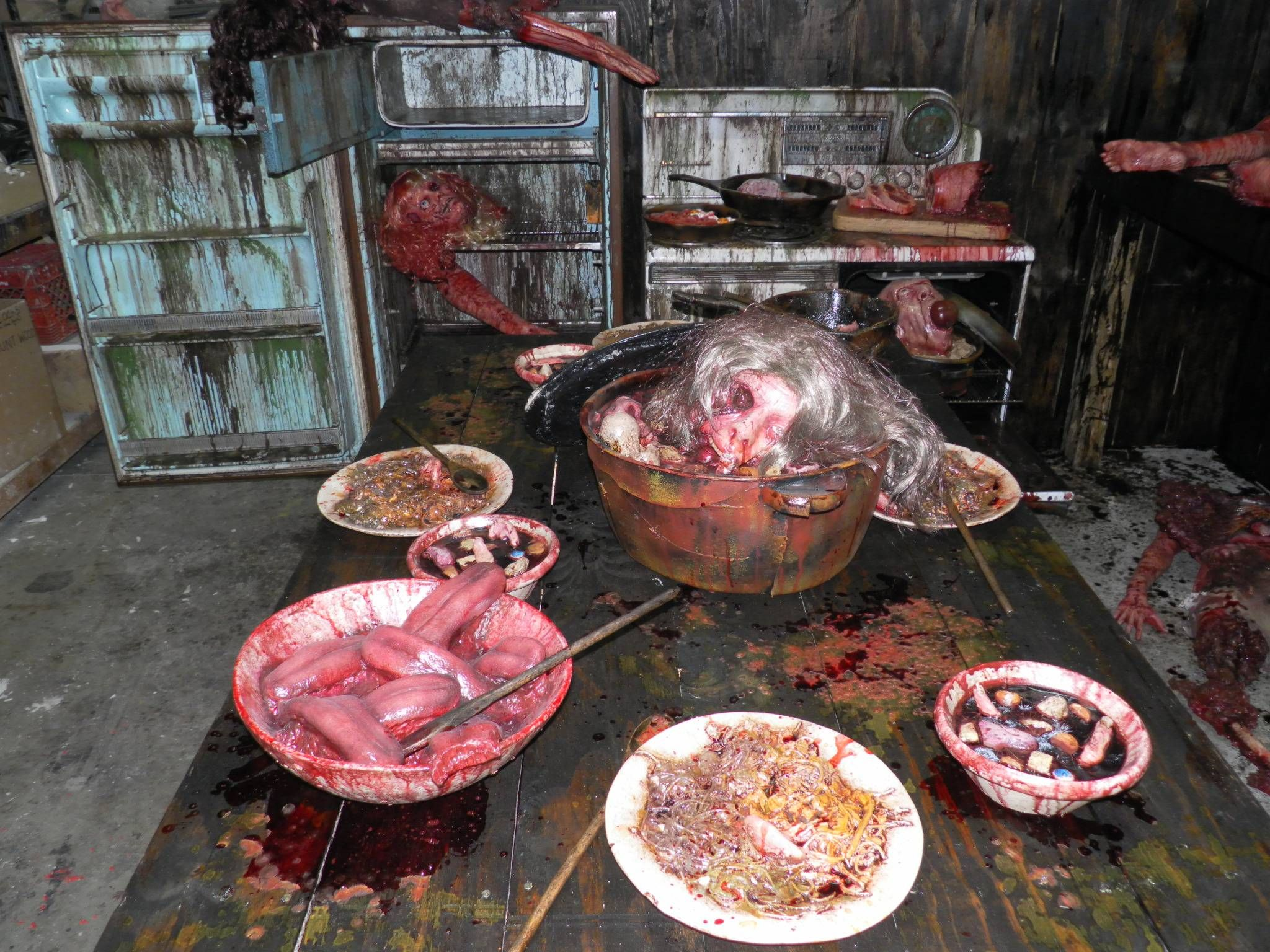 How To Create A Kitchen For A Haunted House