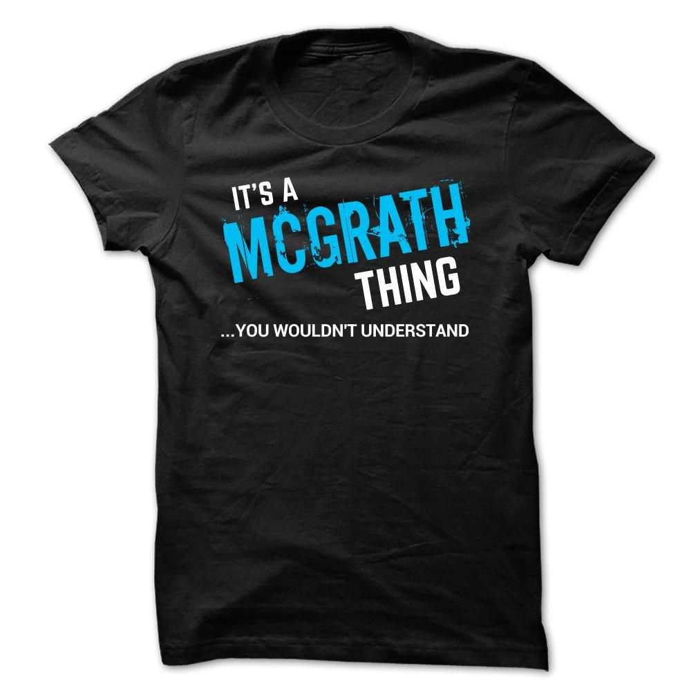 SPECIAL - It a MCGRATH thing