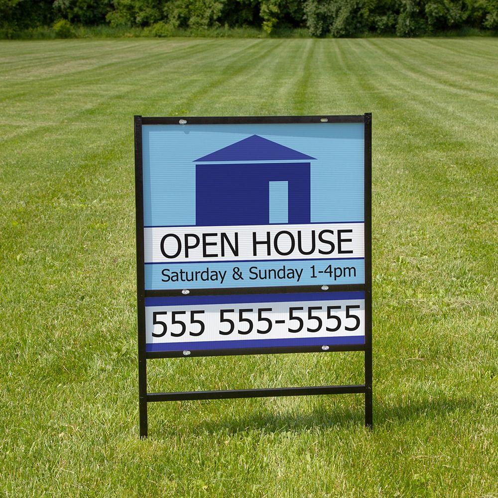 Real Estate Signs Custom Yard