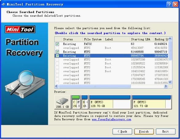Power Data Recovery | MiniTool Partition Recovery | Data