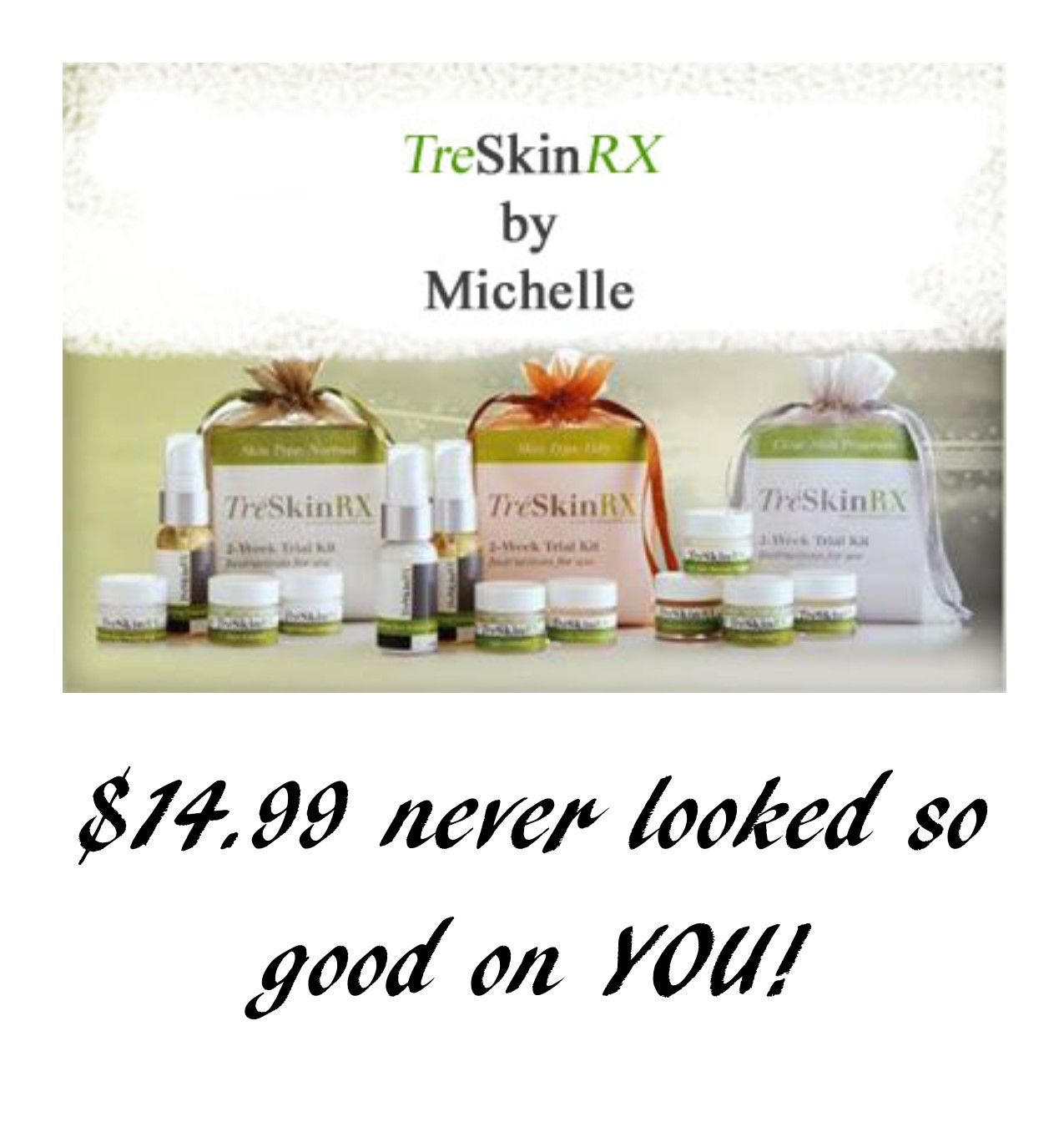 Results for ALL skin types!  Ask me how!