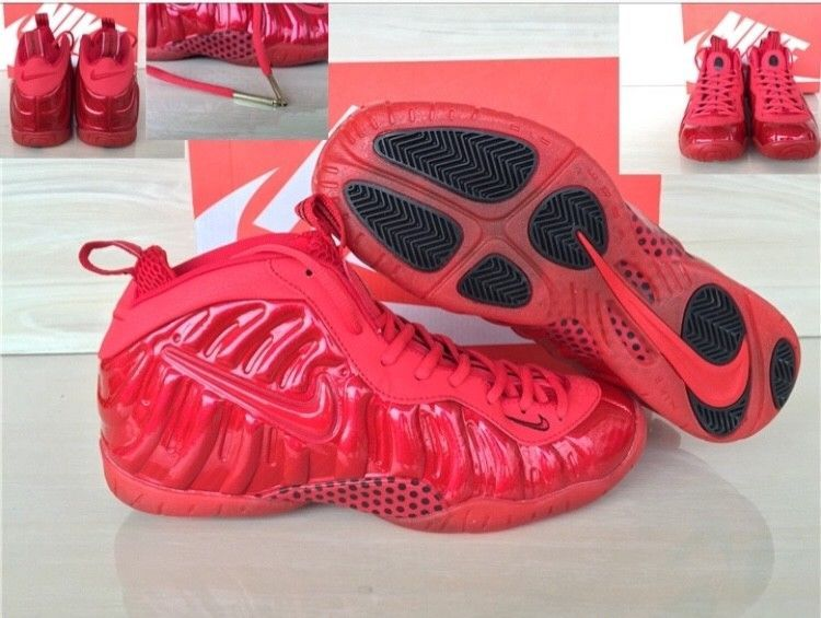 buy popular edb64 84e9d Nike Air Foamposite Pro RED OCTOBER GYM RED Sz 11  fashion  clothing  shoes
