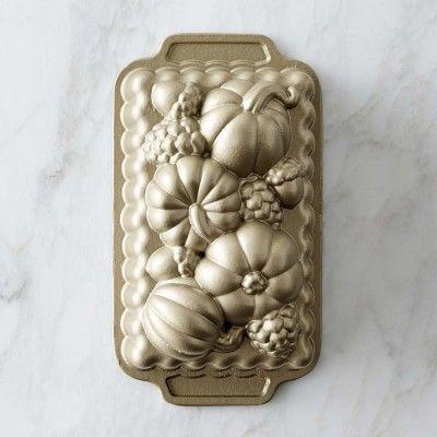 Nordic Ware Fall Harvest Loaf Pan Williamssonoma Hello
