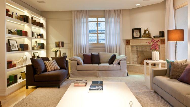 Feng Shui Wohnzimmer \u2013 Tipps zur Gestaltung und Deko Wohnzimmer