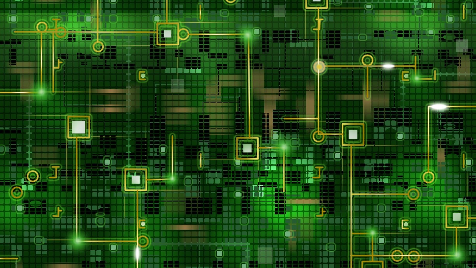 Chip Grid Background Black Green Line Circuit 36221 1920x1080 Jpg 1920 1080 Computer Wallpaper Digital Wallpaper Abstract Wallpaper