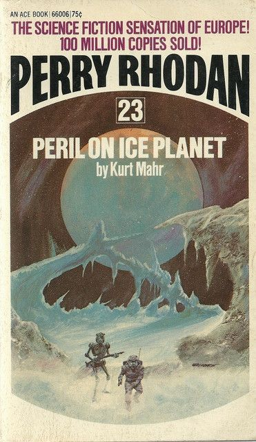 Perry Rhodan 23 Peril On Ice Planet Planets