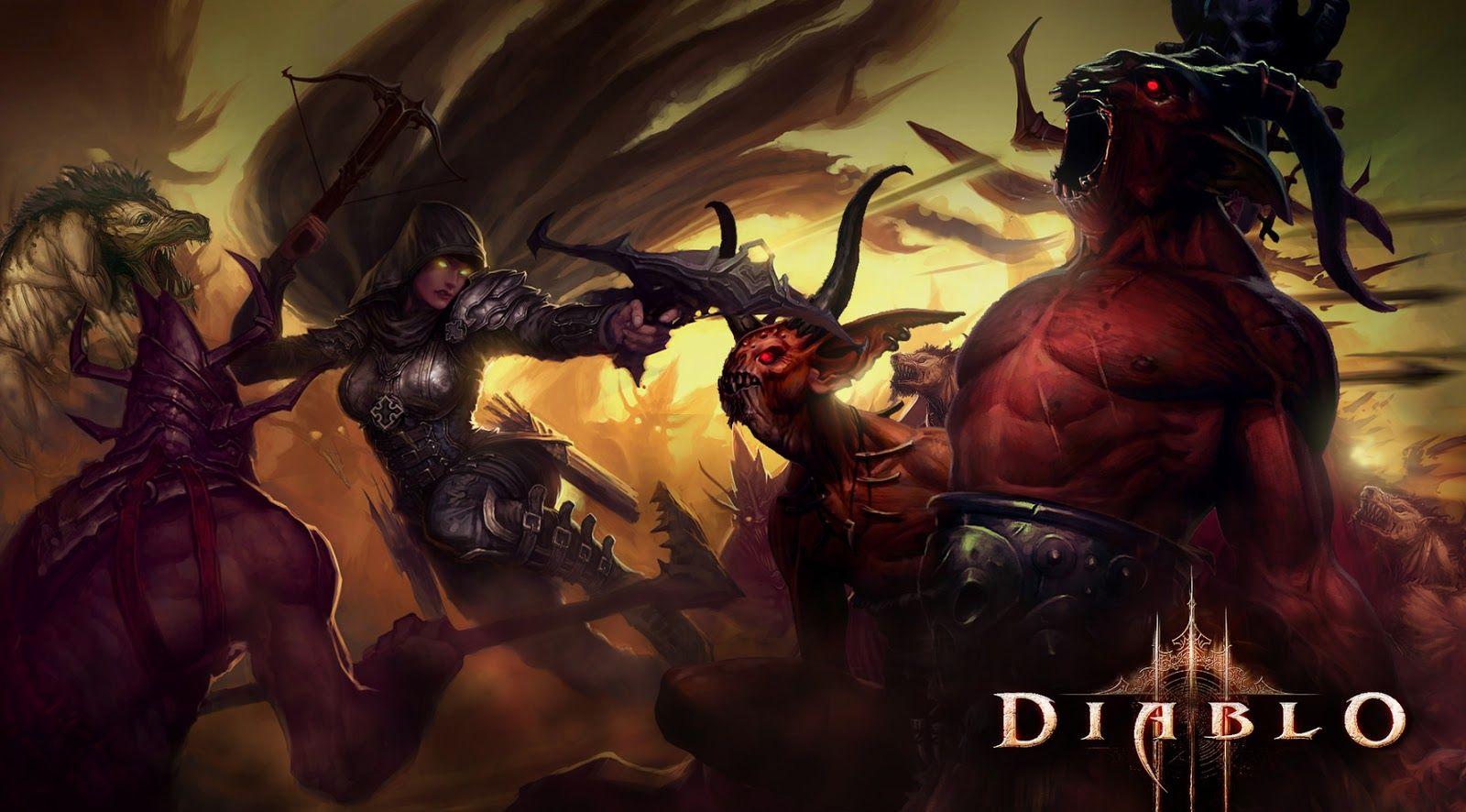 Diablo 3 Wallpaper Demon Hunter Demon Hunter Diablo 3