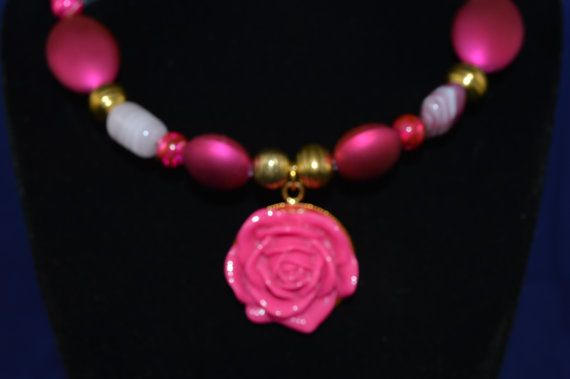 Hey, I found this really awesome Etsy listing at https://www.etsy.com/listing/125884759/this-beautiful-magenta-rose-pendant-is